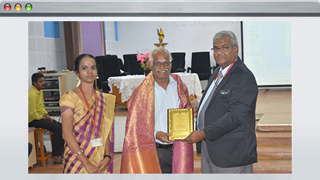 Honored in Jeppiar Engg College